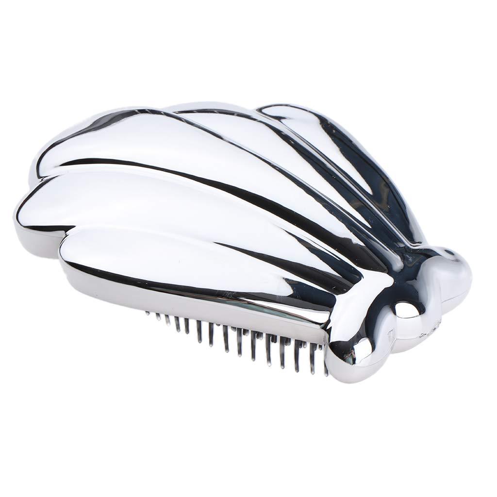 B Blesiya 4 Unids Peine de Pelo Desenredar Cepillo Alisador Cabello Masajeador Pincel de Peluquería de Salón: Amazon.es: Belleza