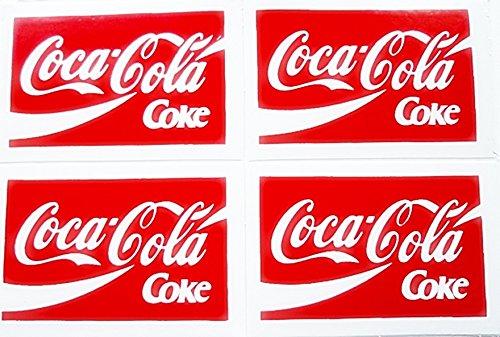 4 in 1 Mini Coke CCz Soft Drink - Square Sticker Decal