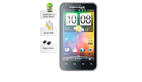 Primux Alpha - Smartphone libre Android (pantalla 4.3