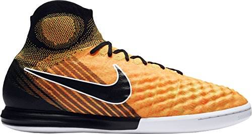 Nike Mens MagistaX Proximo II Dynamic Fit Indoor Soccer Shoes (Orange/Black, 6 D(M) US)