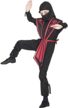 NET TOYS Traje para niño de Luchador Ninja Disfraz Combate Pelea ...