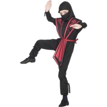 NET TOYS Traje de niño Ninja Disfraz Luchador Combate ...