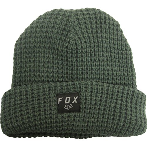 Fox Racing Mens Cold Fusion Roll Beanie Hats One Size Heather Fatigue (Fox Beanie For Men)