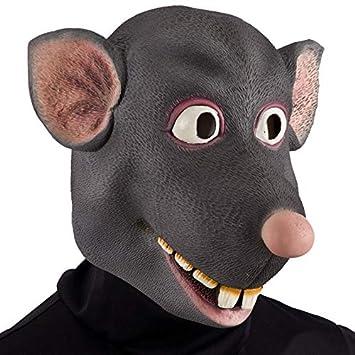 Carnaval Juguetes - Máscara De Rata Látex Para vestirse Mascotas