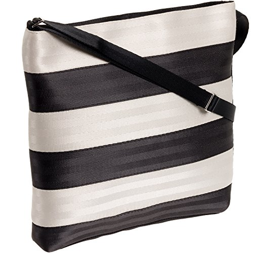 amp; Crossbody Streamline Black Women's White Harveys xHEqIw