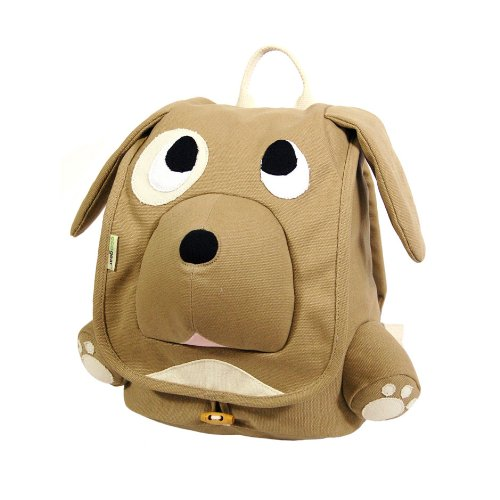ecogear BG-2847 Ecozoo Puppy Organic Cotton Backpack - Brown