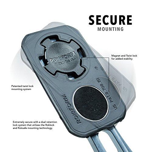 Rokform [Mount Kit Only] Pro-Series Adjustable Aluminum Bike Mount / Holder, Twist Lock & Magnetic Security by Rokform (Image #4)