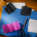 12 Pieces Hot Roller Clips Hair Curler Claw Clips