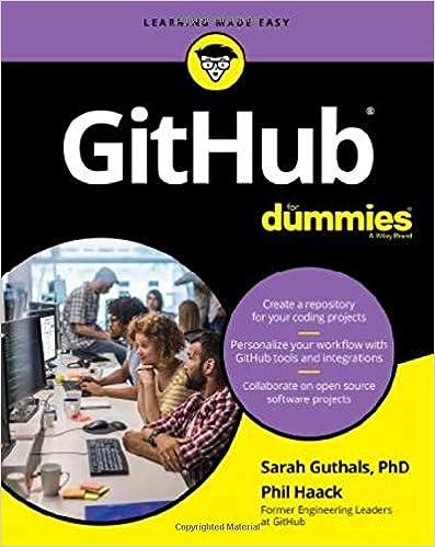 GitHub For Dummies (For Dummies (Computer/Tech