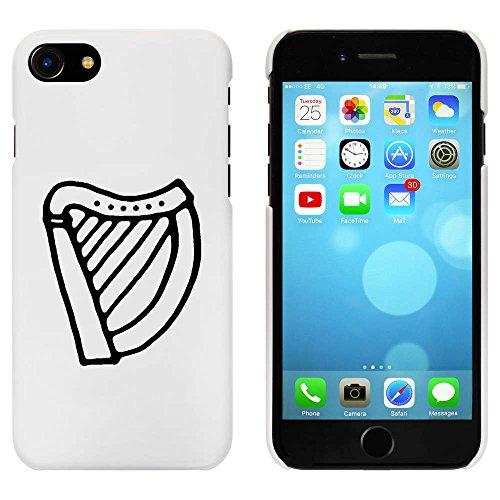 Blanc 'Harpe Musicale' étui / housse pour iPhone 7 (MC00083090)