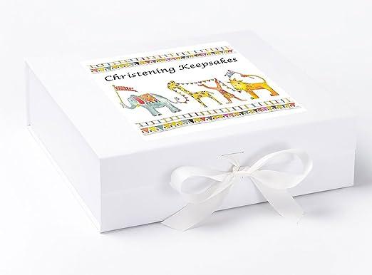 Caja de recuerdo para bautizo, regalo de bautizo, diseño de ...