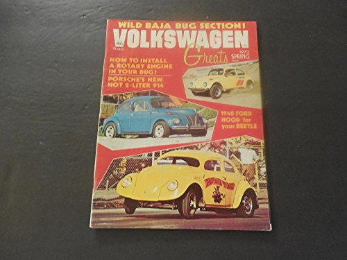 Volkswagon Greats Spring 1973 Install A Rotary Engine In Your Bug