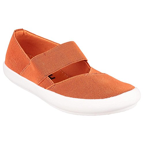 Cotswold Summer Shoe Yellow Textile Ladies Chedworth On Slip Orange Xn4rXUY