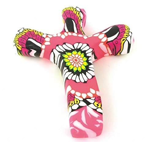 Comforting Gifts - Miniature Hand Held Comforting Clay Cross - Shaped To Fit Any Hand - 2 3/4