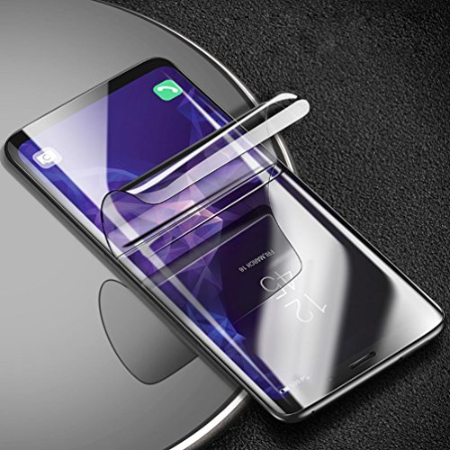 Sunfei Front+Back Ultra Thin Clear TPU Screen Protector Film For Samsung Galaxy S9/ Samsung Galaxy S9 Plus (6.2inch) by Sunfei (Image #5)