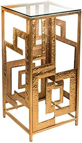 EUROCINSA Ref.18233 PEANA Alex, Hierro, Dorado, 40x40x82cm: Amazon.es: Juguetes y juegos