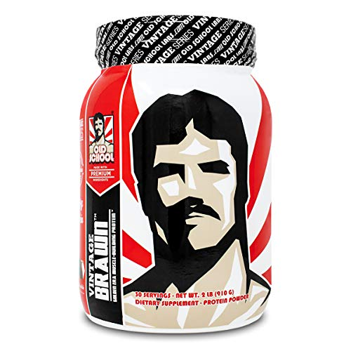 VINTAGE BRAWN Protein - Muscle-Building Protein Powder - The First Triple Isolate of Premium Egg, Milk (Whey and Casein), and Beef Protein - Rich Chocolate Flavor with Zero Sugars and No Artificials (Best Protein Powder For Building Muscle Mass)