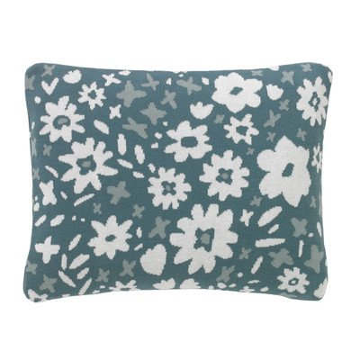 Dwellstudio Kids Bedding - DwellStudio Knit Pillow- Posey Jade