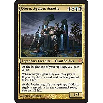 Amazon Com Magic The Gathering Oloro Ageless Ascetic