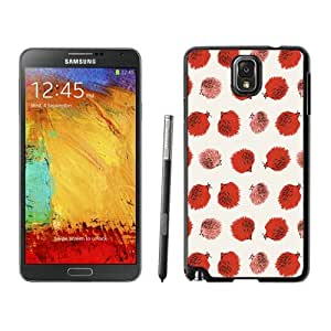 Fun Samsung Galaxy Note 3 Case Colorful Hedgehog Durable Soft TPU Silicone Black Phone Cover Accessories
