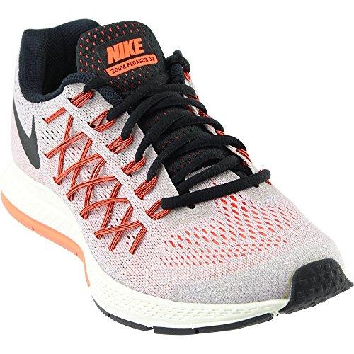 NIKE Women's Air Zoom Pegasus 32 Running Shoe Violet Ash/Orange/Black Size 6.5 M US