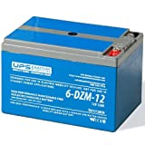 6-DZM-12 12V 12Ah Deep Cycle Mobility Battery