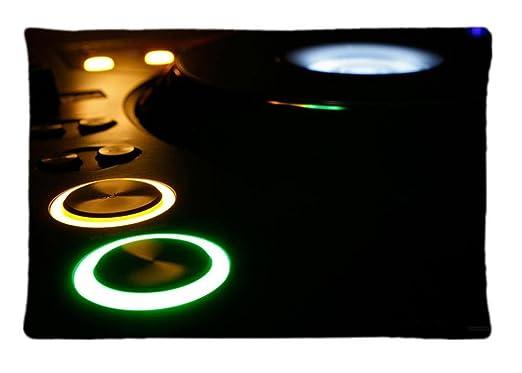 Tancat Technics Tocadiscos DJ Custom funda de almohada Fashion ...