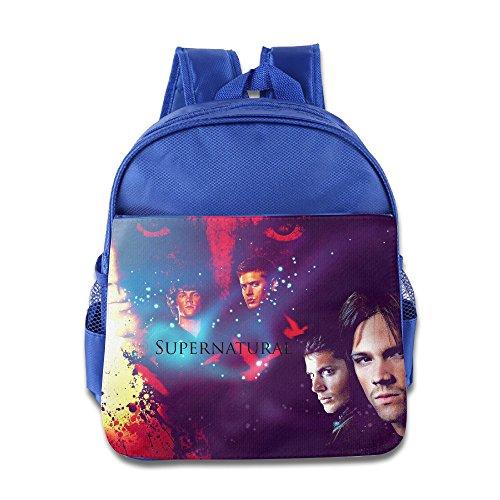 KIDDOS Infant Toddler Kids Supernatural Backpack School Bag, RoyalBlue (Platinum Ninjago compare prices)