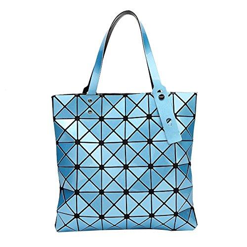 à De Pliant Main Mode Femme De Bandoulière La Personnalité Sac Skyblue Sac De à Bag La CY Géométrique 6gXqwSEn6