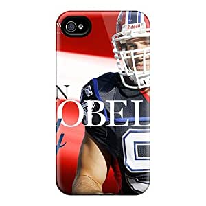 Durable Hard Phone Case For Iphone 4/4s (use830OAfy) Customized Nice Buffalo Bills Pattern