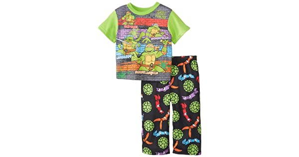 Amazon.com: Pijamas de Ame Little Boys Teenage Mutant Ninja ...
