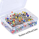 Pllieay 250 Pieces Sewing Pins 38mm Multicolor