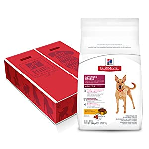 Hill's Science Diet Adult Large Advanced Fitness Chicken & Barley Dry Dog Food, 35 lb Bag, 1 Ct