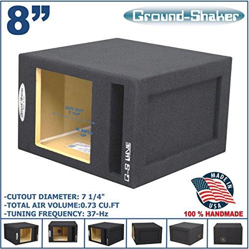 "8"" Single Vented Slot Ported Solobaric Sub Box For L7 L5 ..."