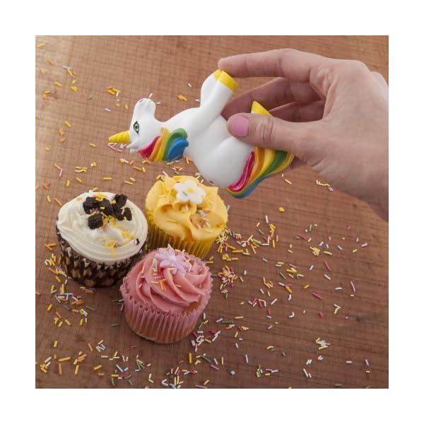 Spinning Hat Unicorn Sprinkles Sugar Shaker 4