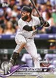 #9: 2018 Topps Opening Day #161 Charlie Blackmon Colorado Rockies Baseball Card