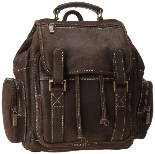Claire Chase Sierra Backpack, Distressed Brown, One Size by ClaireChase