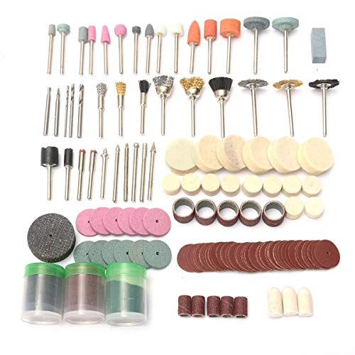 (230pcs 1/8 Inch Rotary Tool Accessory Kit Grinding Sanding Polishing Abrasive Tool Set)