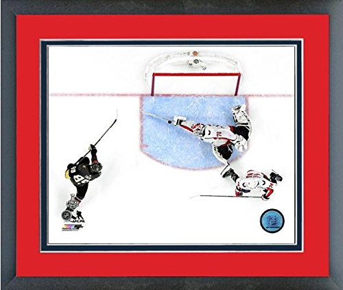 "Braden Holtby Washington Capitals 2018 NHL Stanley Cup Finals Action Photo (Size: 12.5"" x 15.5"") Framed"