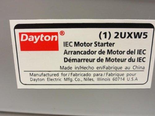 32A Coil: 120V 600V Max 3P Dayton 2UXW5 Motor Starter