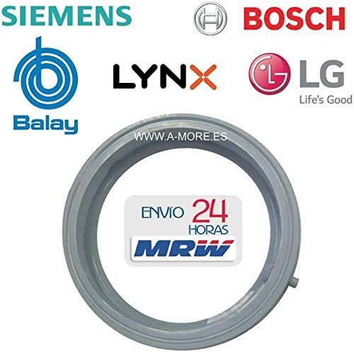 Goma escotilla Lavadora para BALAY - Bosch - Siemens (Ver Modelos ...