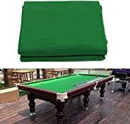 Boshen Billiard Cloth Pool Table Felt with 6 Cloth Strips for 7/8/9 Foot Table Fast Pre-Cut Rails, 3 Fabrics f