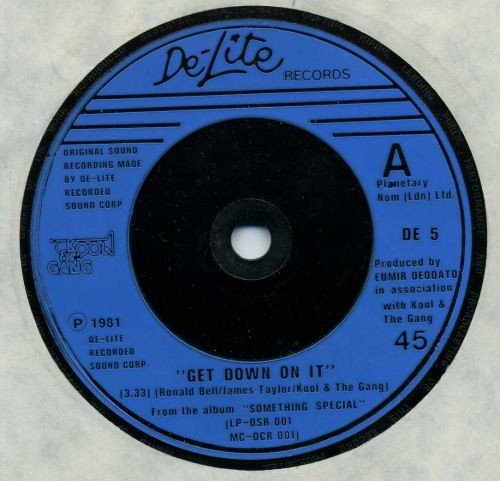 """Price comparison product image Get Down On It / Summer Madness (Original Studio Version) - Kool & The Gang 7"""" 45"""