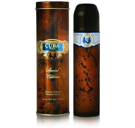 Cuba Paris Special Edition Perfume para hombre Edt Eau de