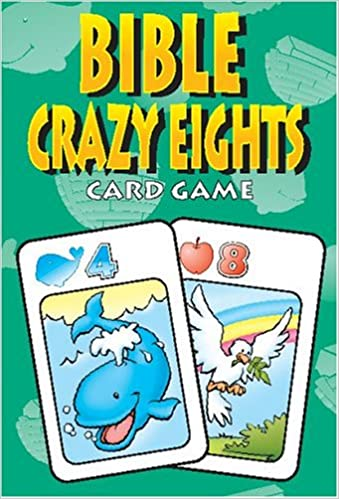 Buy Bible Crazy Eights: Card Game (Bible Card Games) Book