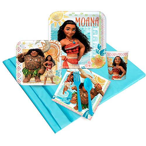 BirthdayExpress Disney Moana 16 Guest Party Pack]()