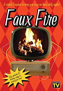 Faux Fire - A Virtual Fireplace to Keep You Cozy on those Chilly Nights!