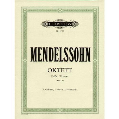 Mendelssohn, Felix - Octet in E-flat Major, Op. 20 - Four Violins, Two Violas, and Two Cellos
