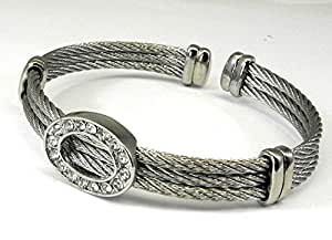 Amazon Com Real Imposters Cable Designer Inspired Rhodium