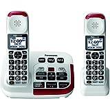 Panasonic KX-TGM420W Amplified Cordless Phone (2 Handsets)